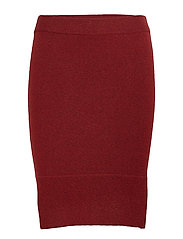 Irene Skirt - DARK RED