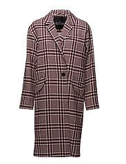 Peyton Coat - CHECK