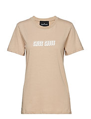 Stanley Check Tee - SAND