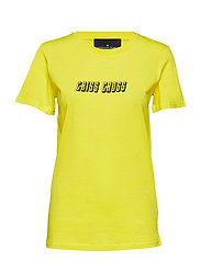 Stanley Check Tee - YELLOW