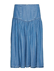 Camden Skirt - MEDIUM DENIM