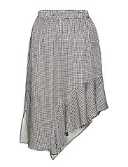 Jael Skirt - BLACK/WHITE CHECK