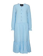Nini A-line Dress - SKY BLUE