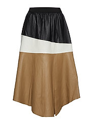Erin Layer Skirt LB - COLOUR BLOCKED