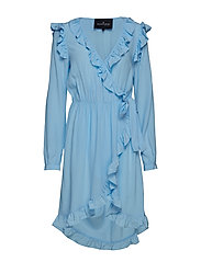 Nini Wrap Dress - SKY BLUE