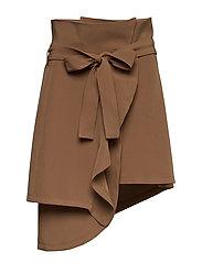 Veronique Skirt - BRICK