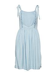Camden Strap Dress - LIGHT DENIM