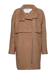 DESIGNERS, REMIX Hardy Long Coat - CARAMEL