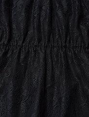 DESIGNERS, REMIX - Long ruffled lace dress - kveldskjoler - black - 3