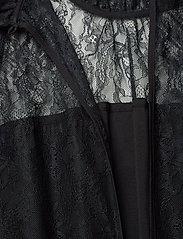 DESIGNERS, REMIX - Long ruffled lace dress - kveldskjoler - black - 4