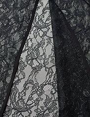 DESIGNERS, REMIX - Long ruffled lace dress - kveldskjoler - black - 5