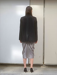 DESIGNERS, REMIX - Ruched pencil skirt - midi - grey - 3