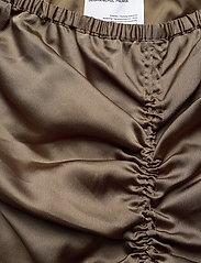 DESIGNERS, REMIX - Ruched pencil skirt - midi - khaki - 2