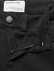 DESIGNERS, REMIX - High-rise straight-leg cropped jeans - straight regular - black - 3