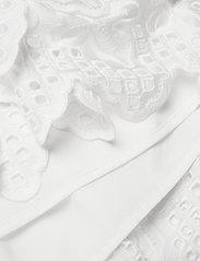 DESIGNERS, REMIX - Asymmetric broderie anglaise dress - blondekjoler - white - 4