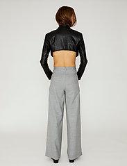 DESIGNERS, REMIX - Marie Wrap Jacket - skinnjackor - black - 3