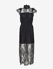 Melissa Long Dress - BLACK