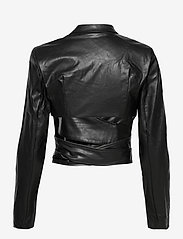 DESIGNERS, REMIX - Marie Wrap Jacket - skinnjackor - black - 2