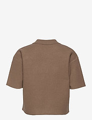 DESIGNERS, REMIX - Lucca Knit Blouse - strikkede toppe - taupe - 2