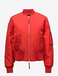 Collin Bomber - bomber-takit - red