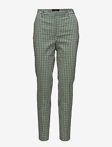 Farina Suit - smale busker - check