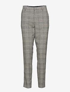 Angela Suit - slim fit bukser - check