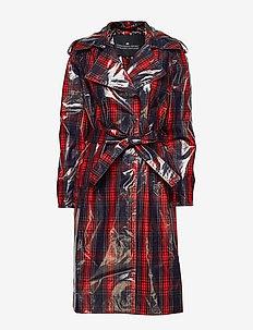 Blaine Coat - trenchcoats - check
