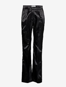 Dex Suit Pants - raka byxor - black