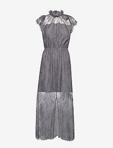 Melissa Long Dress - DARK GREY