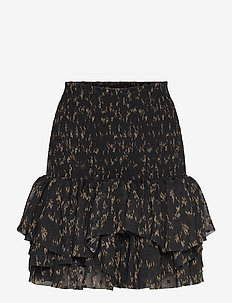 Smocked ruffled mini skirt - lyhyet - pattern
