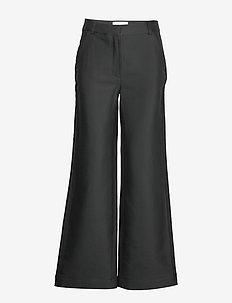 Flared suiting pants - vida byxor - black