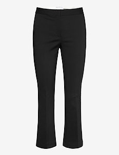 Sansah Cropped - slim fit bukser - black