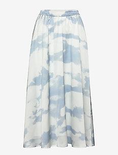 Maxi skirt with elasticated waist - maxi nederdele - print