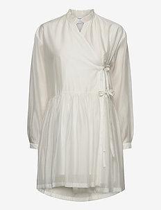 Sonia Dress - omslagskjoler - white