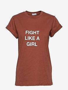 Stanley Fight Tee - t-skjorter med trykk - brown