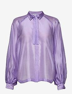 Enola Sleeve Shirt - langermede bluser - lavender