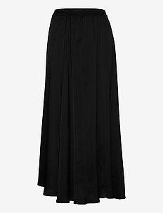 Mea Maxi Skirt - maxi nederdele - black