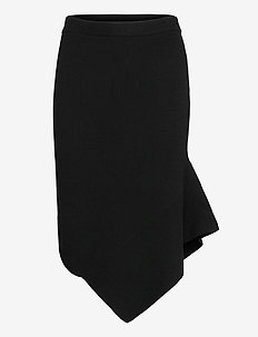 Mandy Layer Skirt - midinederdele - black