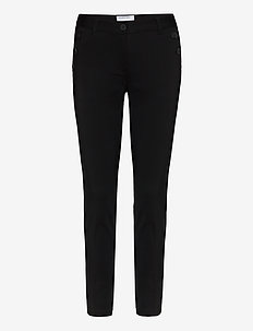 Sansah Zipit - slim fit bukser - black