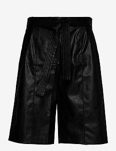Marie Shorts - skinn shorts - black