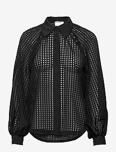 Molise Shirt - langærmede bluser - black