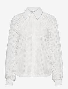 Molise Shirt - langærmede bluser - cream