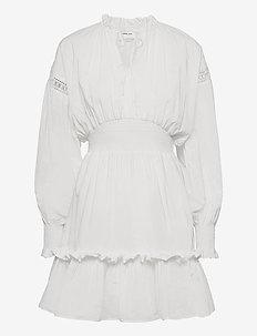 Sandra Sleeve Dress - sommerkjoler - cream