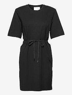 Modena Slit Dress - vardagsklänningar - black
