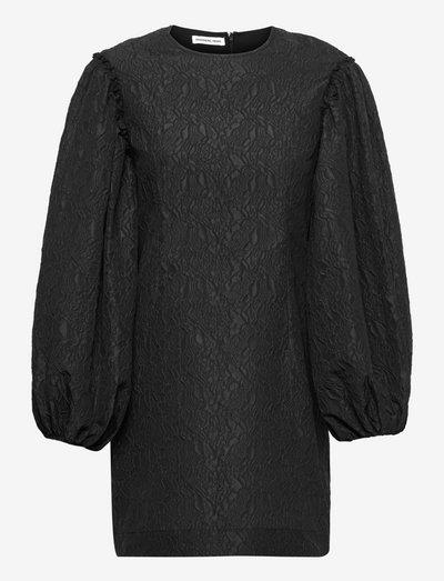 Kappa Sleeve Dress - sommerkjoler - black