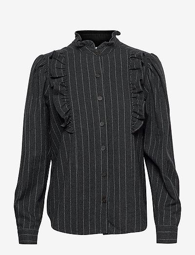Alfie Blouse - denimskjorter - pattern