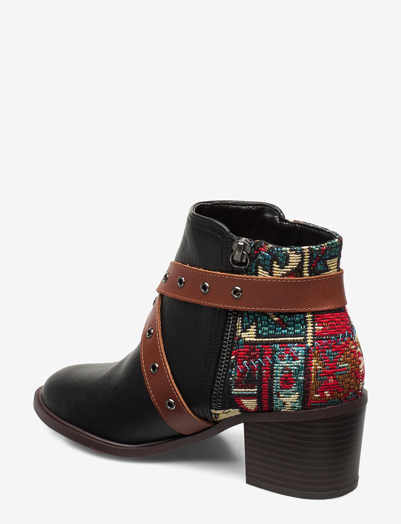 Shoes Alaska Tapestry (Negro) - Desigual Shoes