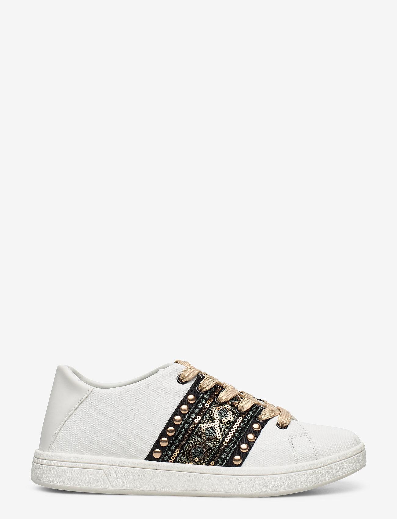 Desigual Shoes - SHOES COSMIC EXOTIC GOL - baskets basses - blanco