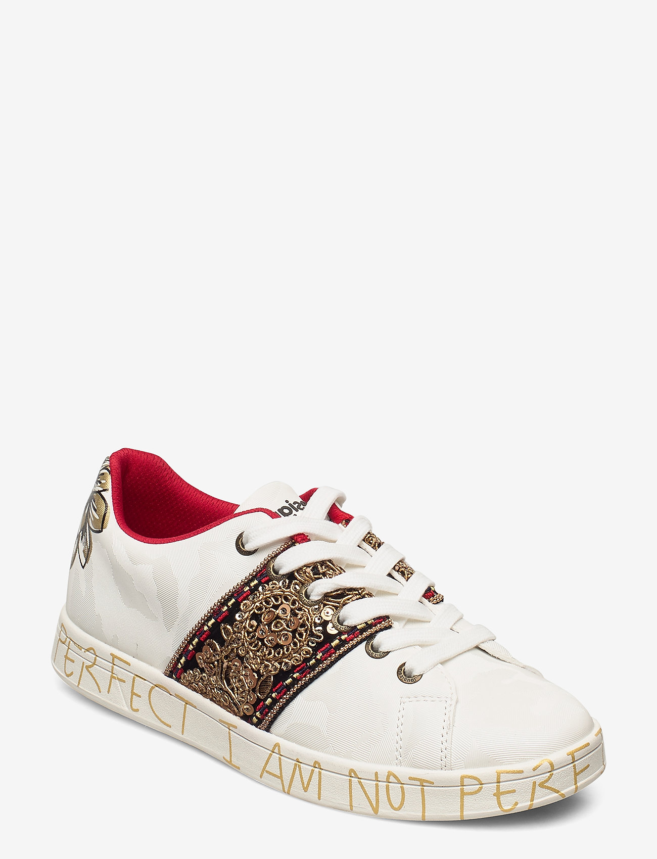 Desigual Shoes - SHOES COSMIC INDIA - låga sneakers - blanco - 0