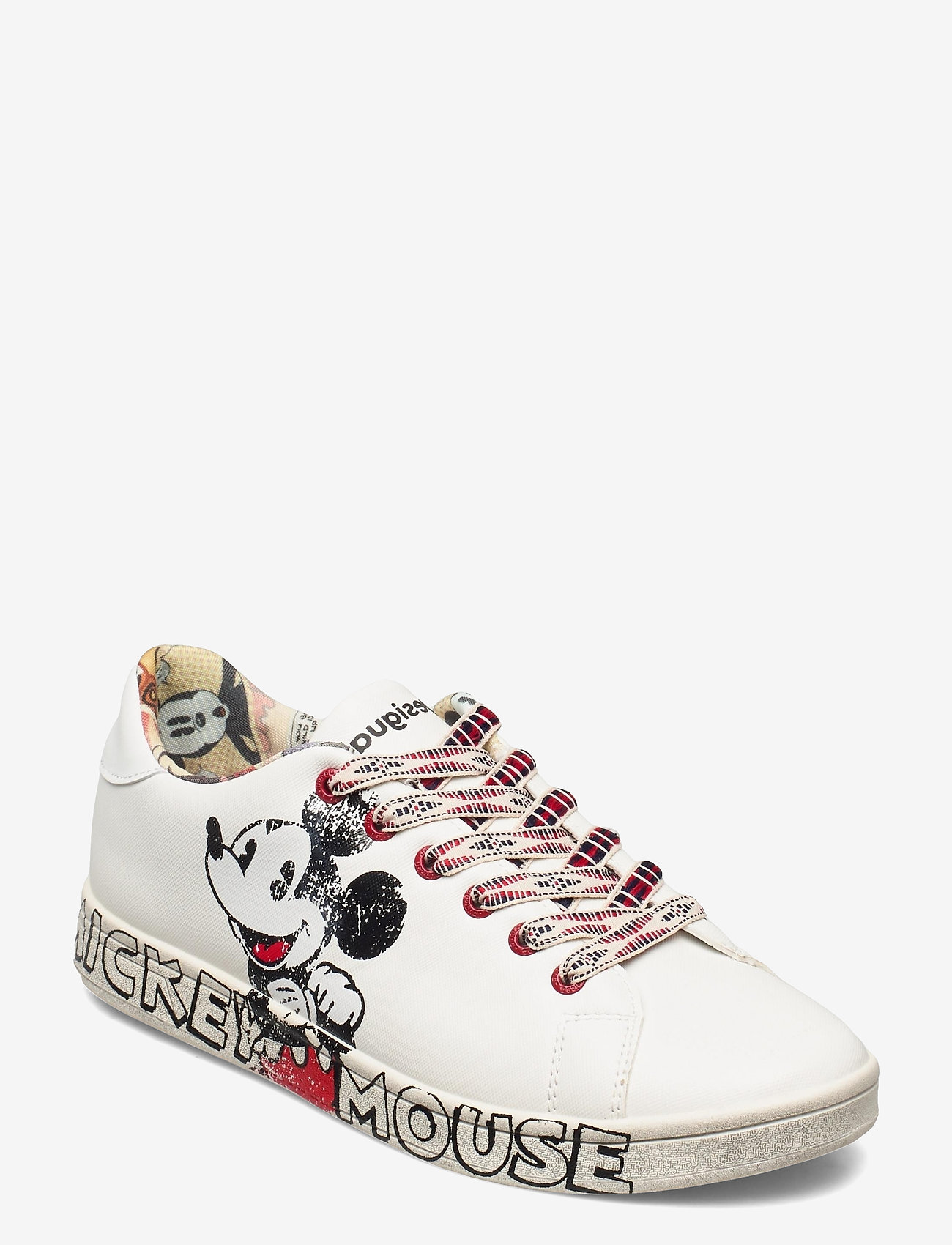 Desigual Shoes - SHOES COSMIC MICKEY - låga sneakers - blanco - 0